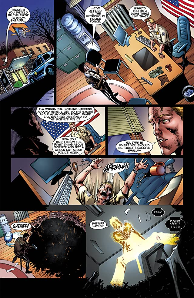 click for super-sized previews of Blackest Night: Superman #1