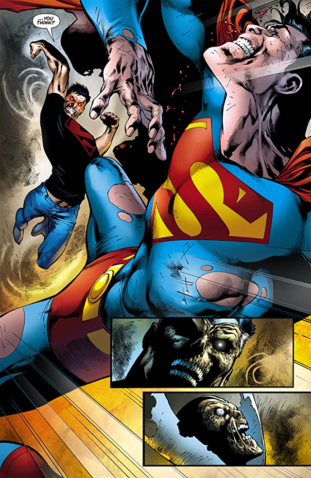 click for super-sized previews of Blackest Night: Superman #2