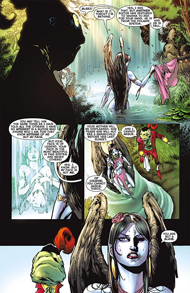 click for super-sized previews of Blackest Night: Tales of the Corps #2 (of 3)