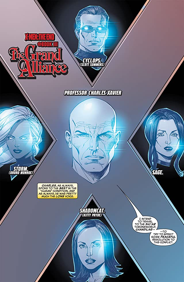 click for super-sized previews of X-Men: The End #1: Men and X-Men