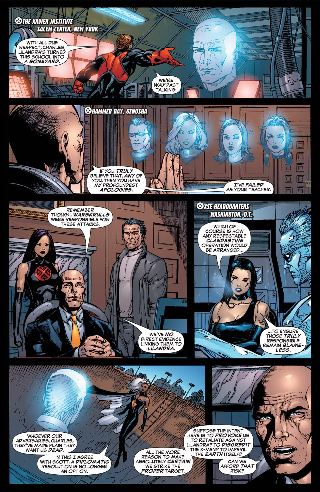 X-Men: The End #1: Men and X-Men