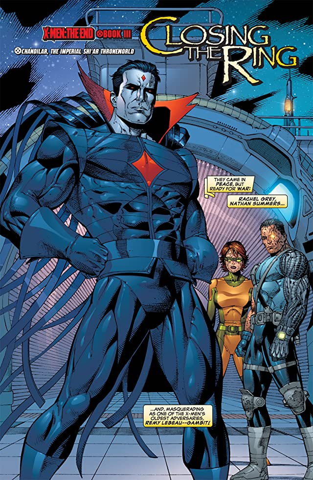 click for super-sized previews of X-Men: The End #2: Men and X-Men
