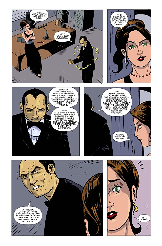 click for super-sized previews of Amelia Cole #14: The Enemy Unleashed Part 2