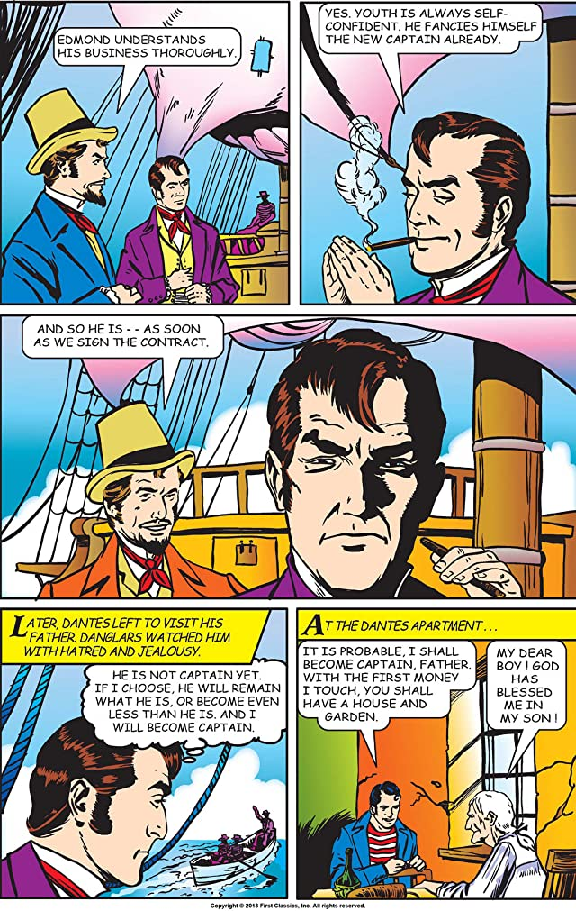 click for super-sized previews of Classics Illustrated #3: The Count of Monte Cristo