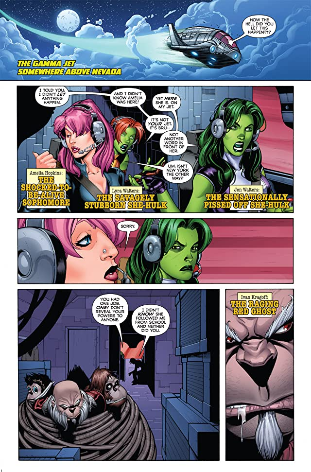 She-Hulks (2010-2011) #3 (of 4)