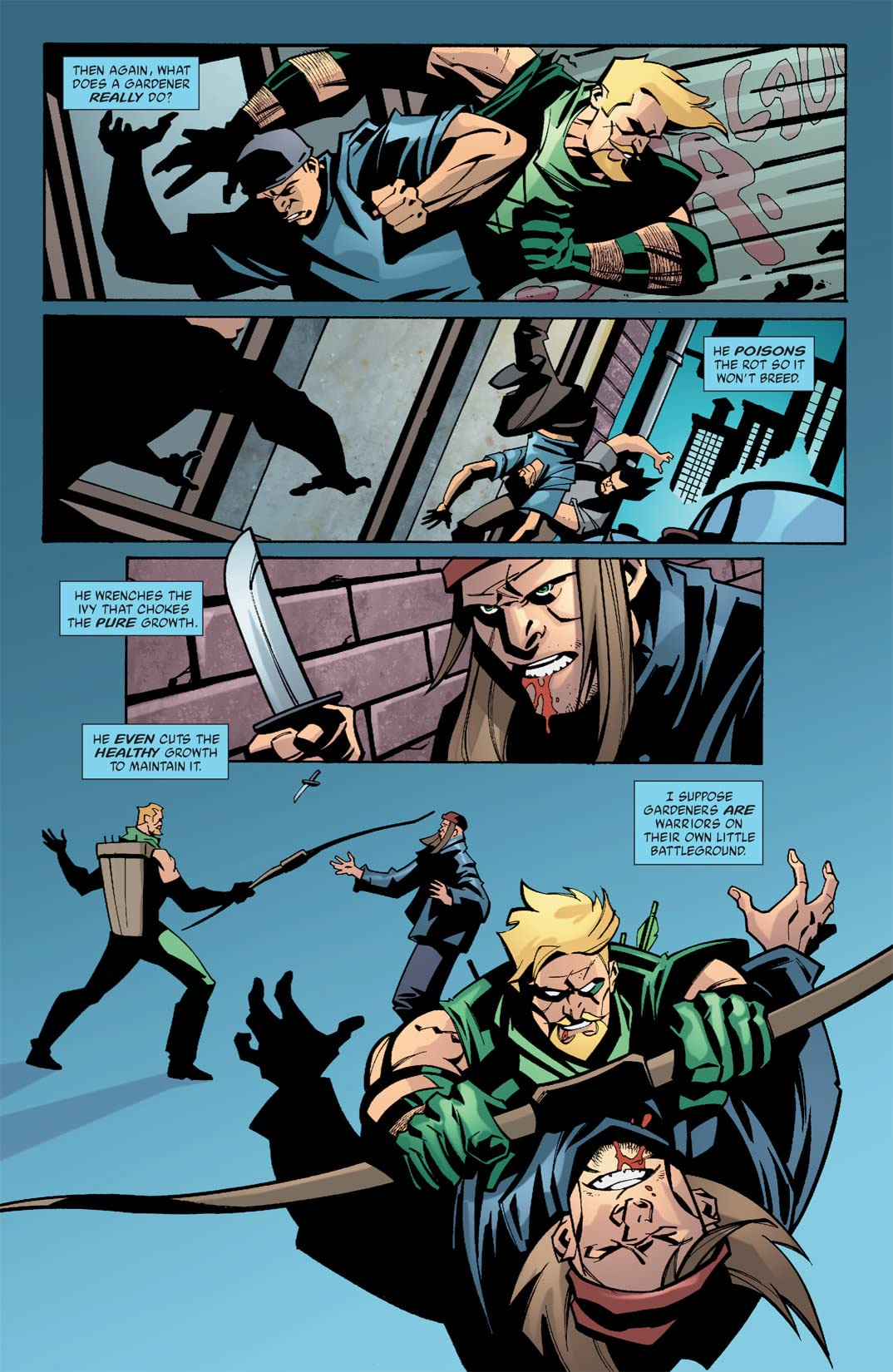 Green Arrow (2001-2007) #34