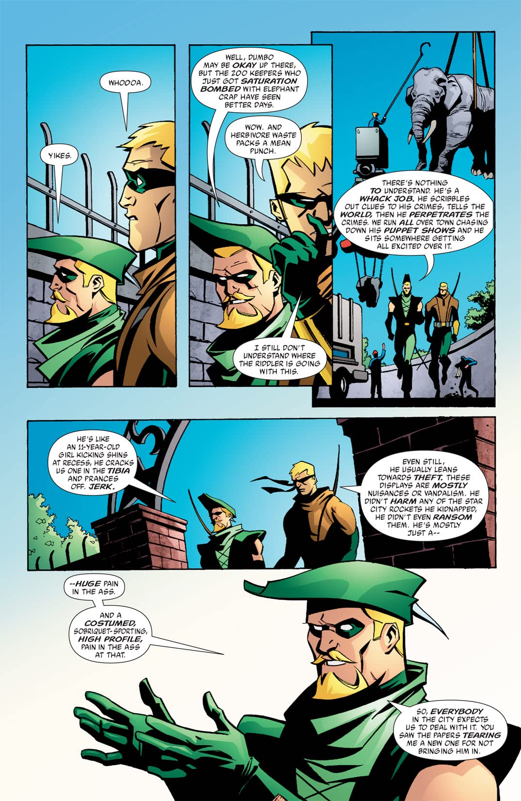 Green Arrow (2001-2007) #35