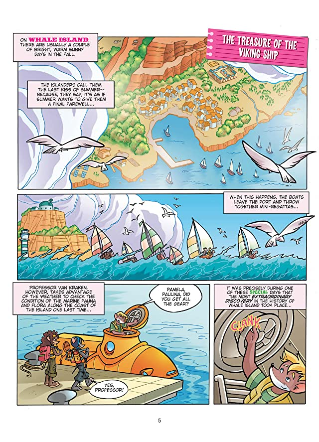 click for super-sized previews of Thea Stilton Vol. 3: The Treasure of the Viking Ship