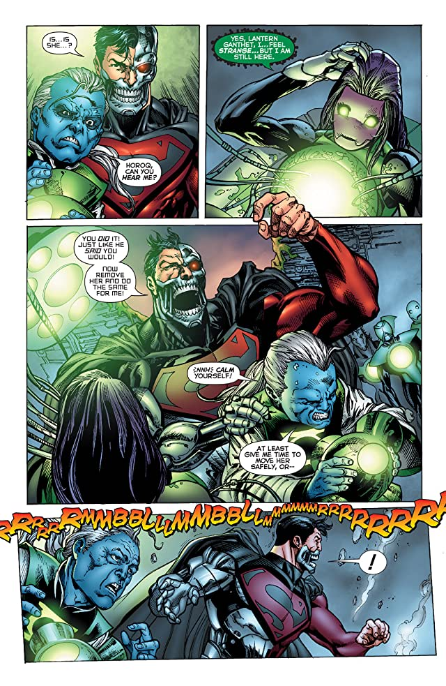 click for super-sized previews of Green Lantern Corps (2006-2011) #52