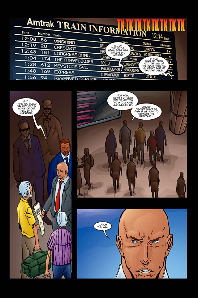 click for super-sized previews of The Carrier #5