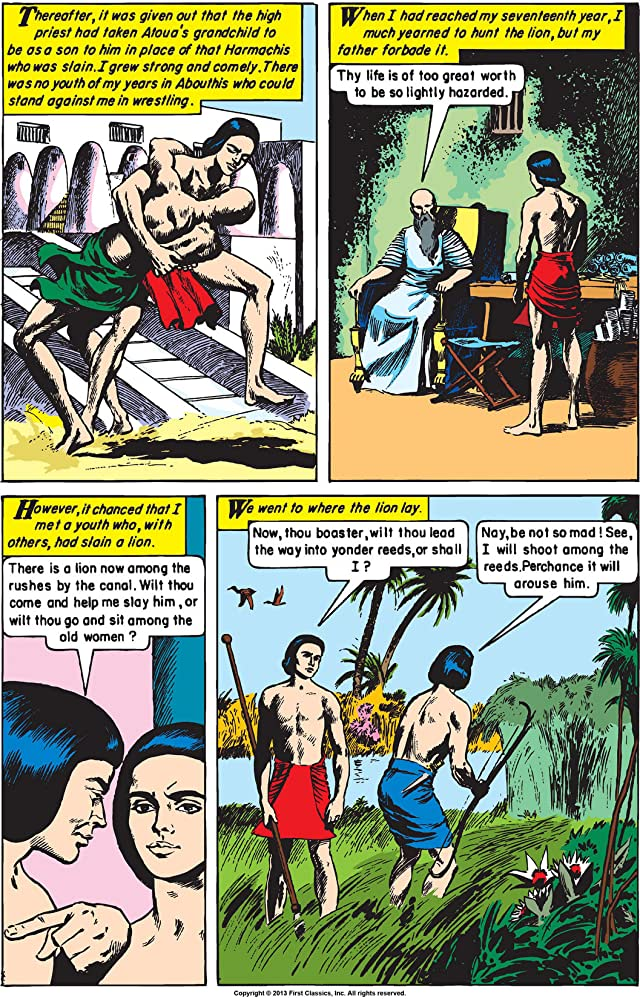 click for super-sized previews of Classics Illustrated #161: Cleopatra