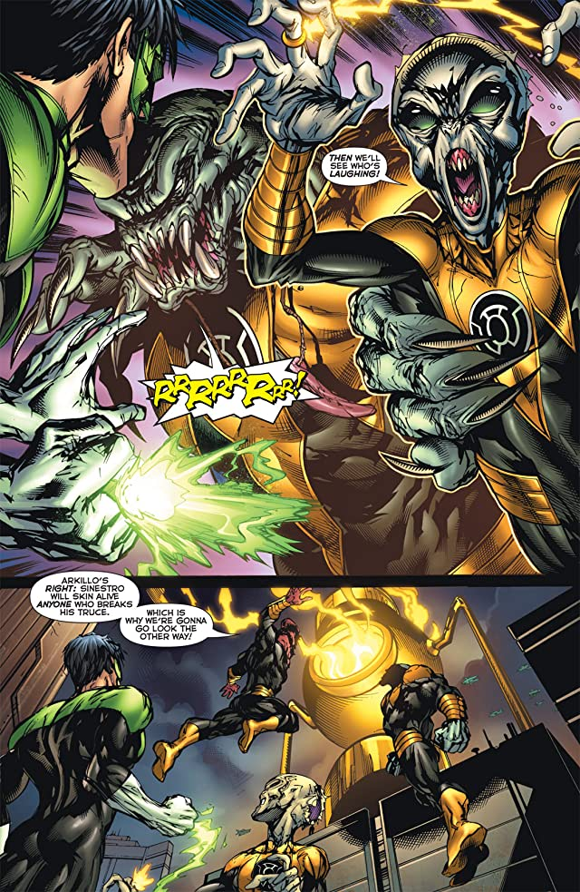 click for super-sized previews of Green Lantern Corps (2006-2011) #53