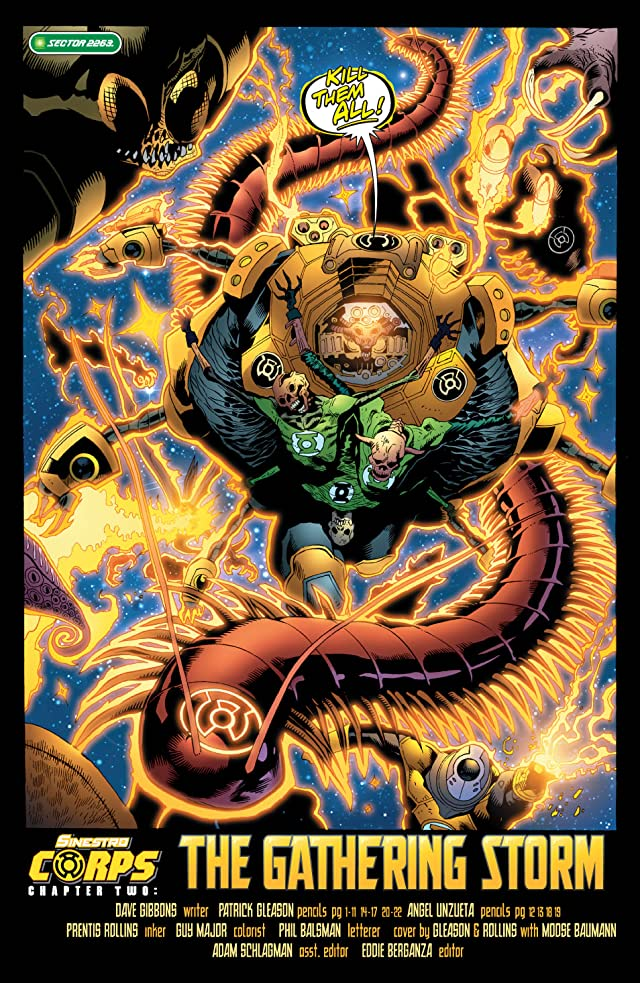 click for super-sized previews of Green Lantern Corps (2006-2011) #14