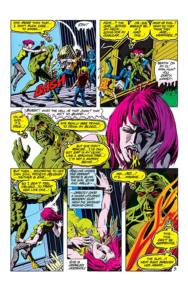 click for super-sized previews of The Saga of the Swamp Thing (1982-1996) #3