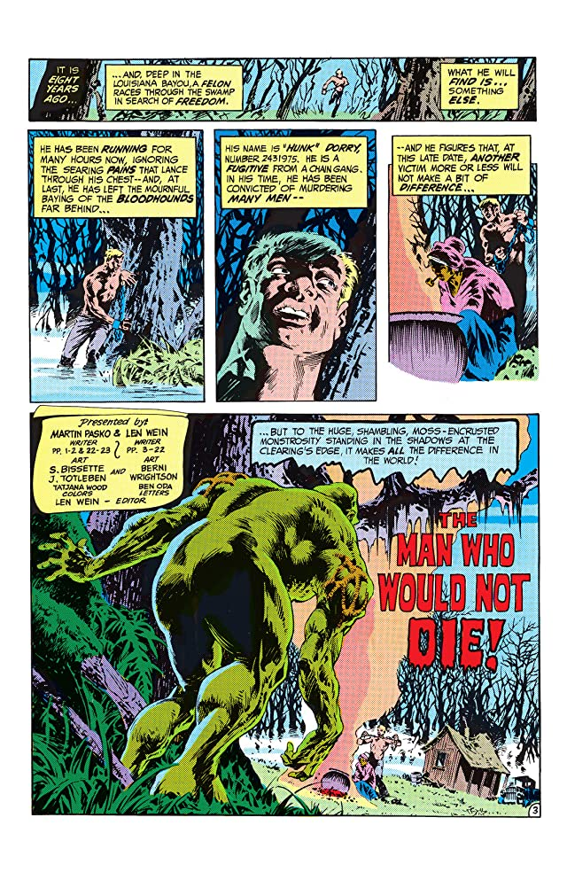 click for super-sized previews of The Saga of the Swamp Thing (1982-1996) #18