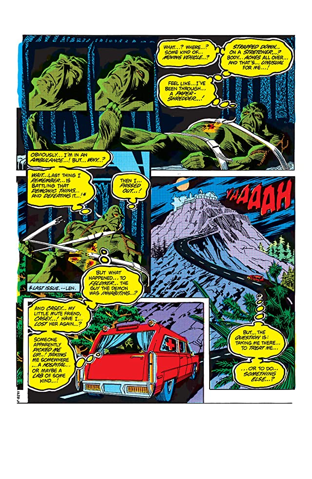 click for super-sized previews of The Saga of the Swamp Thing (1982-1996) #5