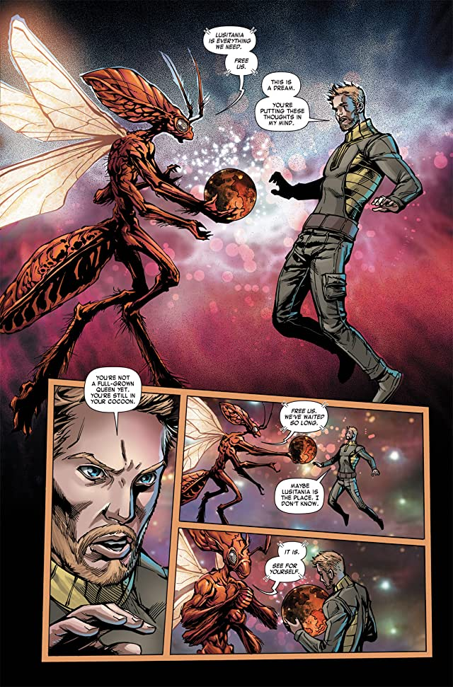 click for super-sized previews of Orson Scott Card's Speaker For the Dead #2