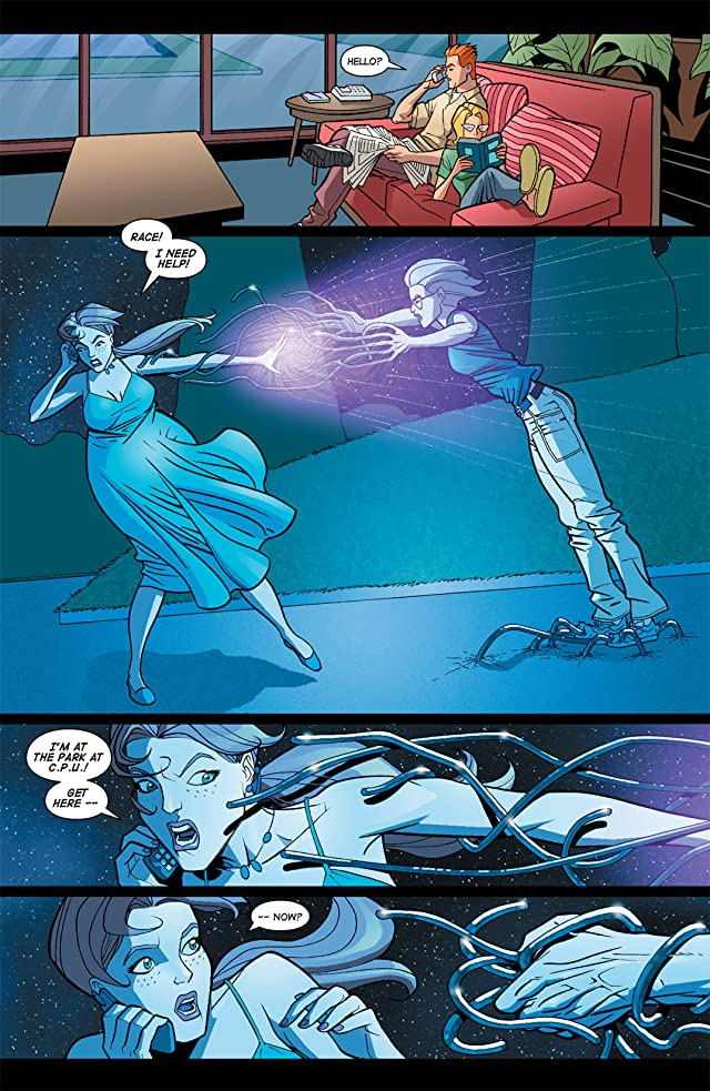 click for super-sized previews of Noble Causes #9