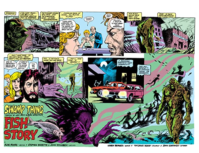 click for super-sized previews of Swamp Thing (1982-1996) #39