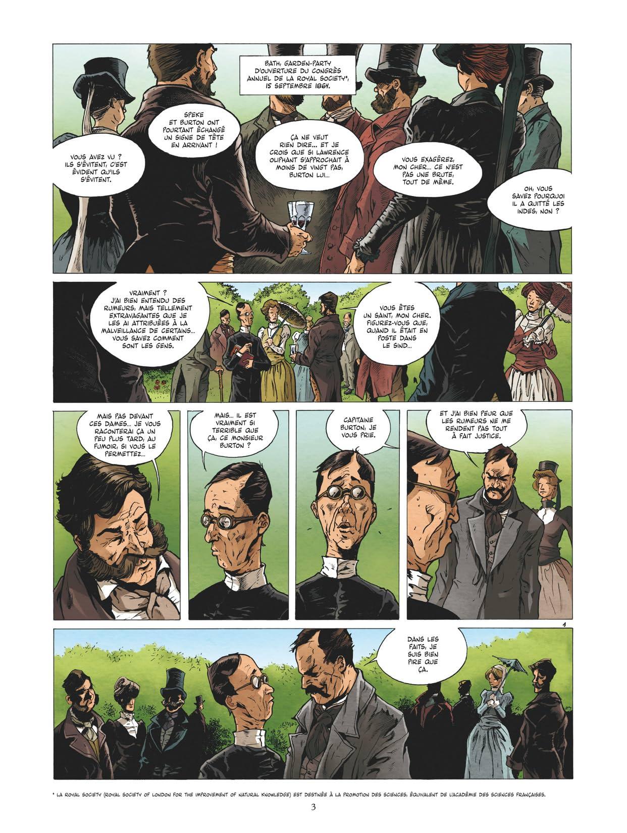 Burton Vol. 2: Le voyage à la Mecque