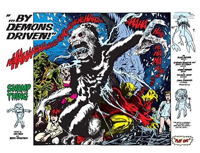 click for super-sized previews of Swamp Thing (1982-1996) #27