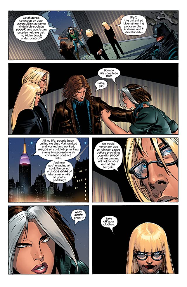 click for super-sized previews of Ultimate X-Men #52