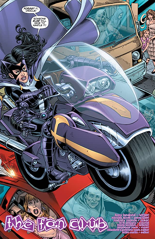 click for super-sized previews of Birds of Prey (1999-2009) #110