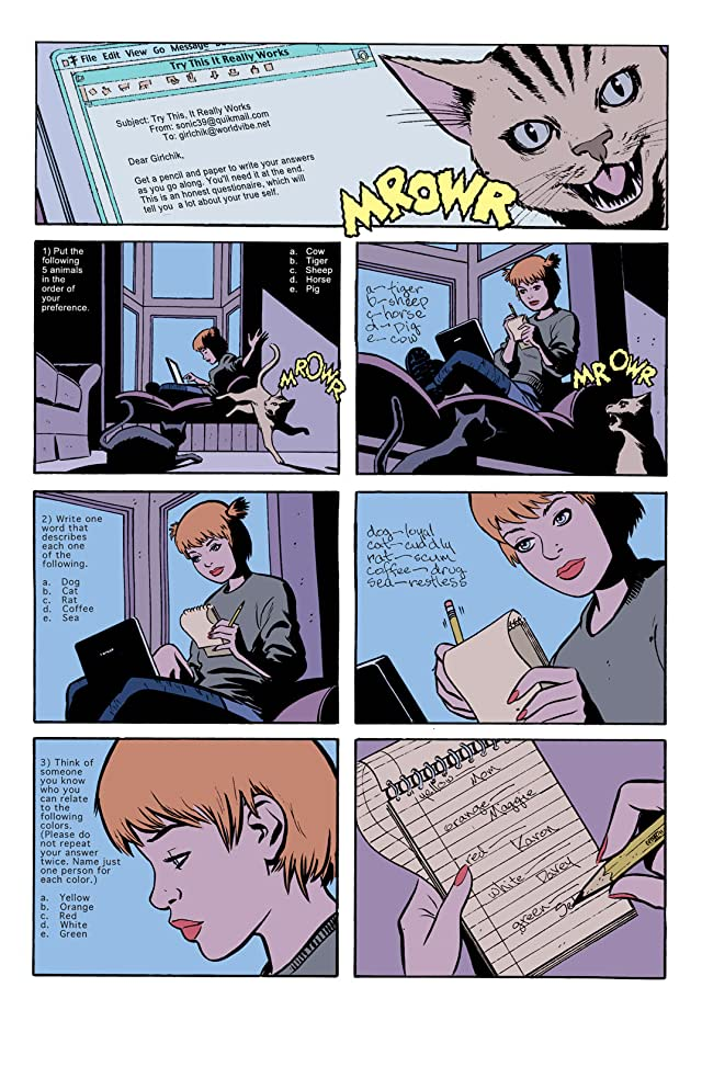 click for super-sized previews of Catwoman (2002-2008) #6