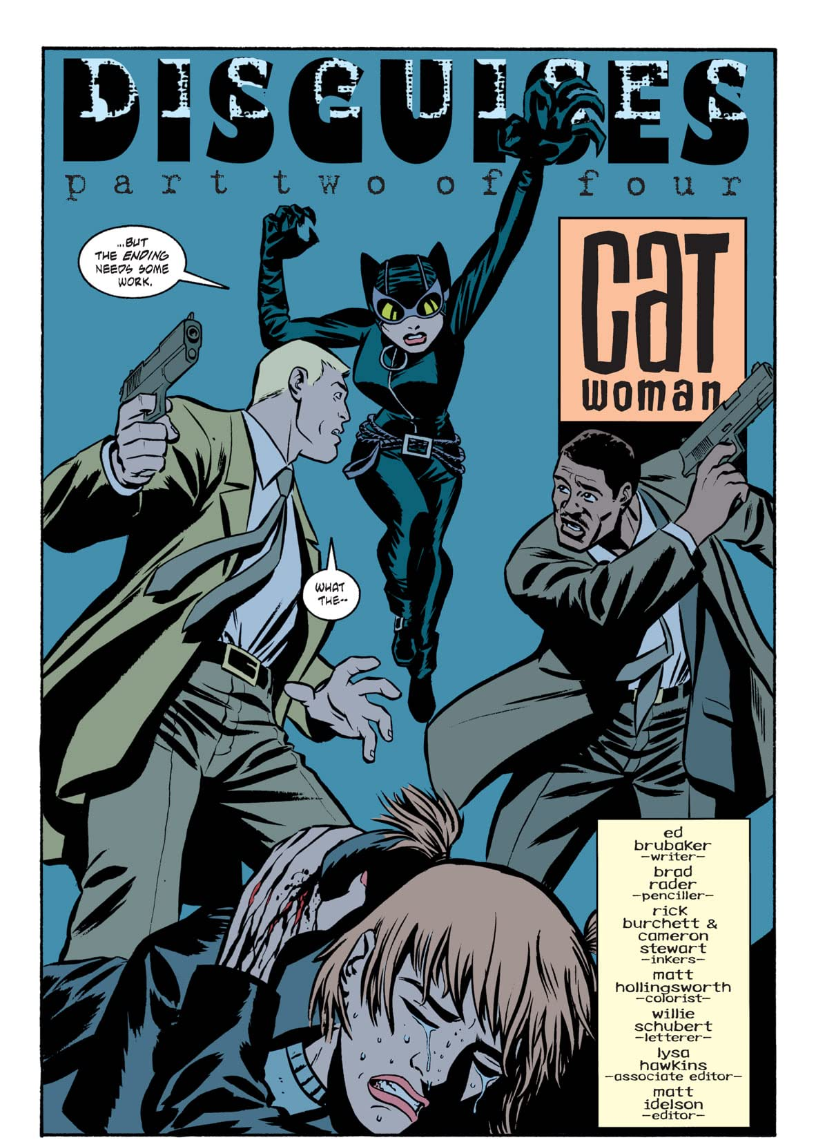 Catwoman (2002-2008) #7