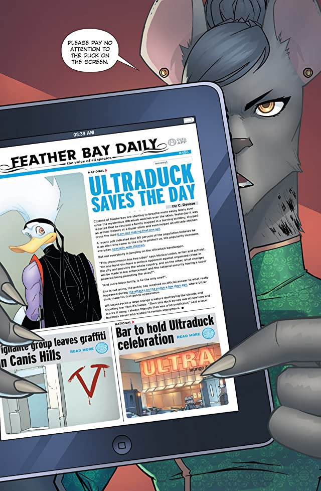 click for super-sized previews of Ultraduck #3