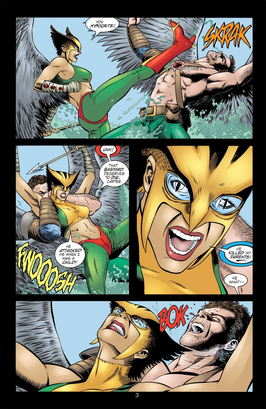 Hawkman (2002-2006) #14