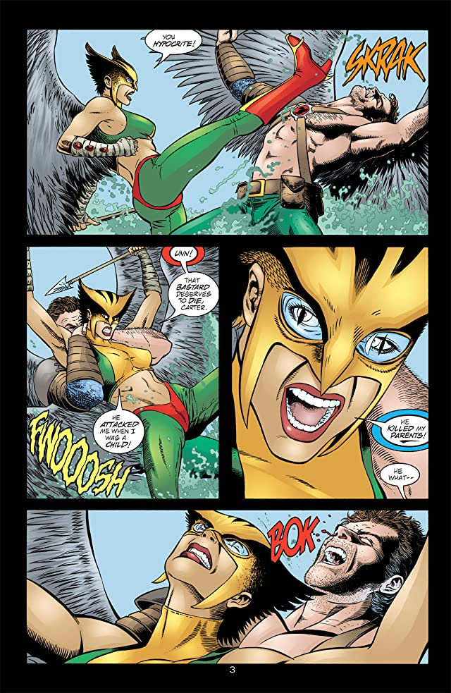 click for super-sized previews of Hawkman (2002-2006) #14