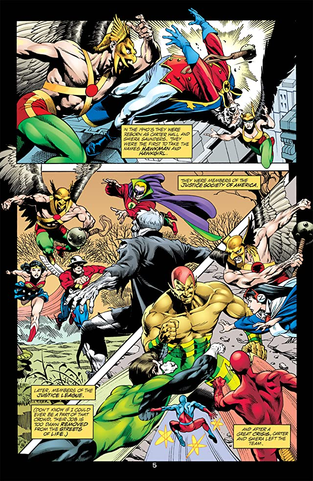 click for super-sized previews of Hawkman (2002-2006) #15