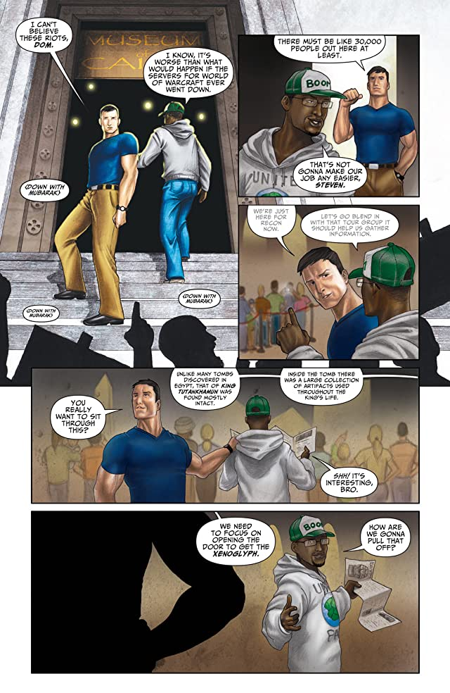 click for super-sized previews of Xenoglyphs #1