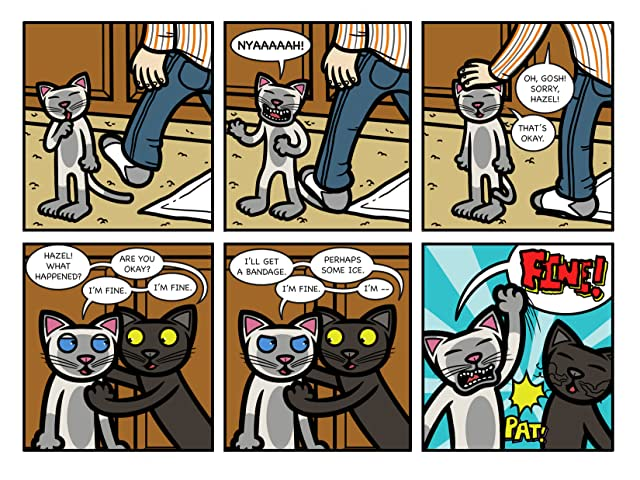 click for super-sized previews of Caaats! #5