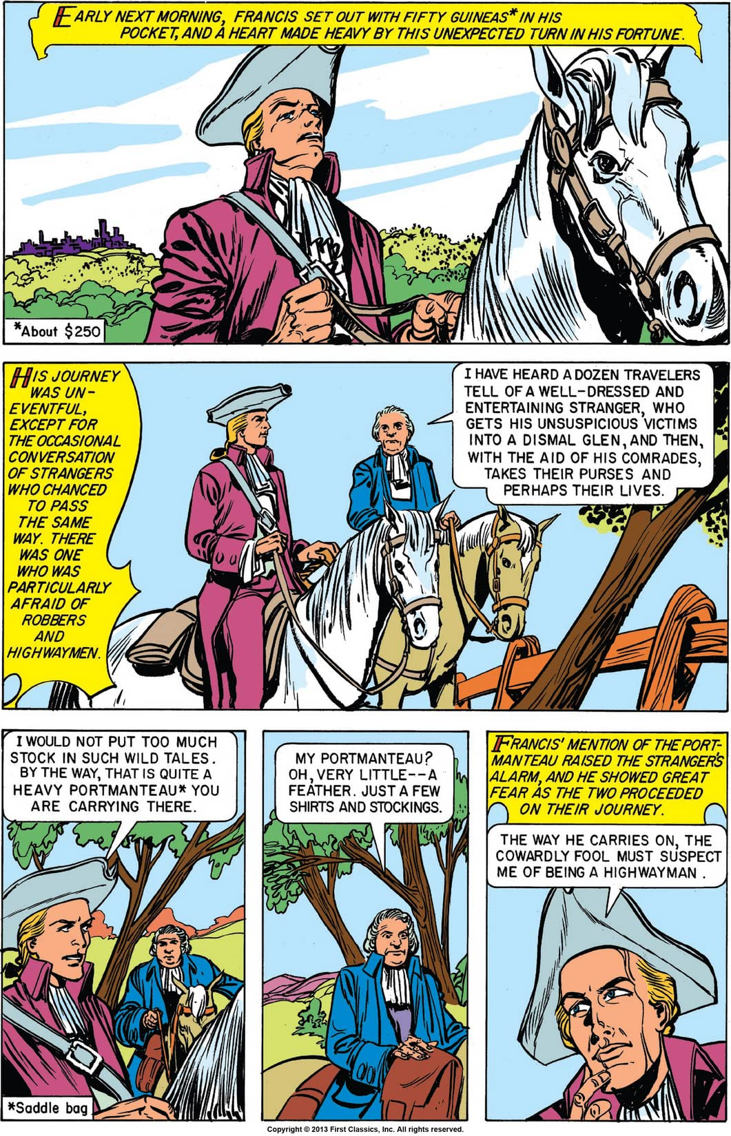 Classics Illustrated #118: Rob Roy