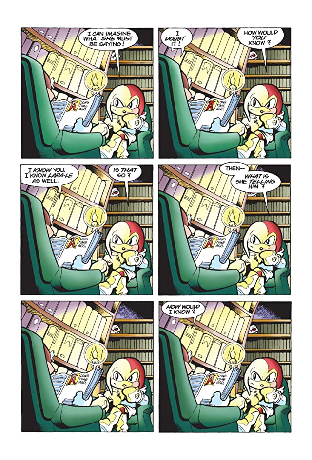 Knuckles the Echidna #5