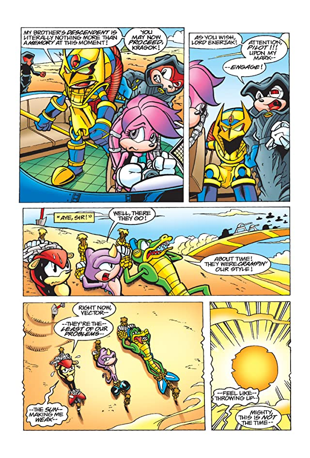 click for super-sized previews of Knuckles the Echidna #9