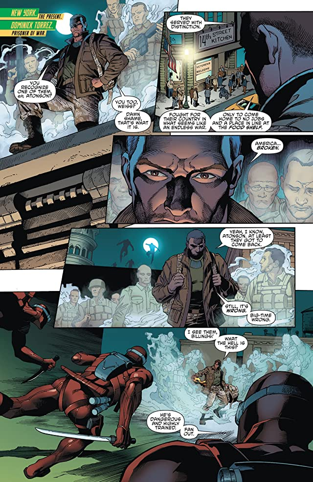 click for super-sized previews of Aquaman and the Others #1