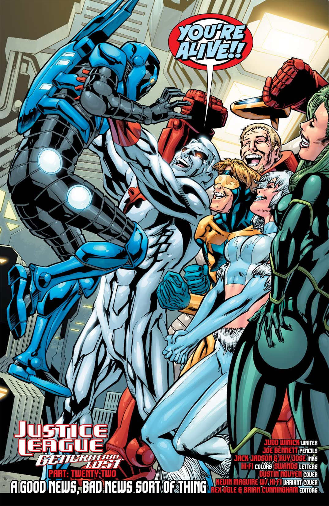 Justice League: Generation Lost #22