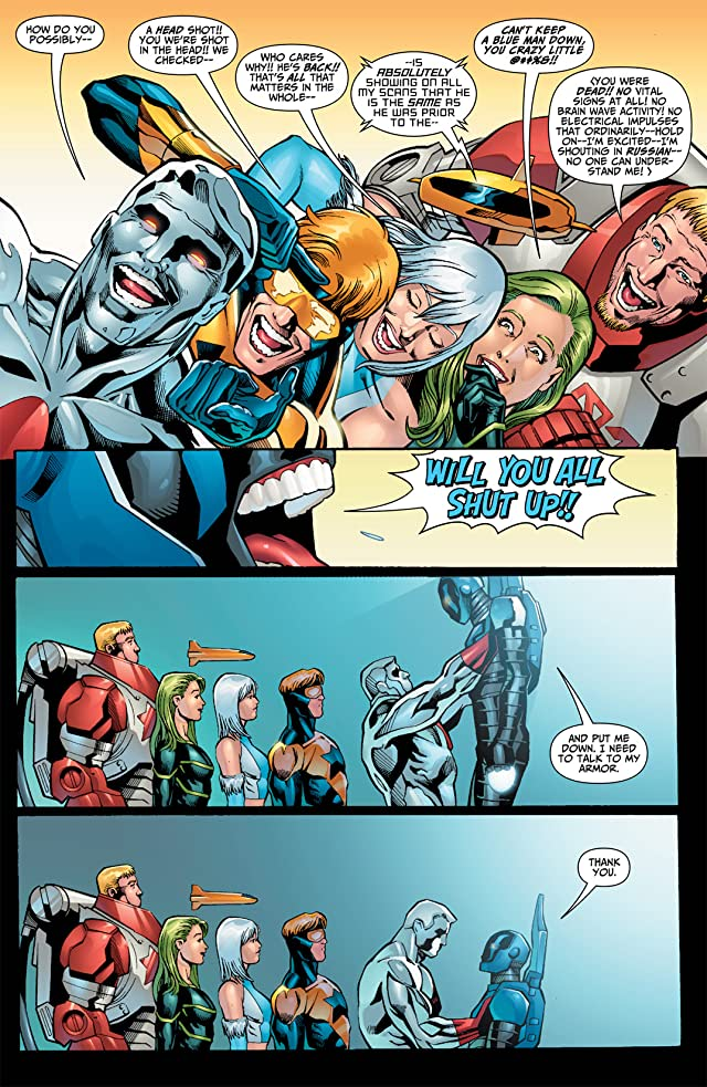 click for super-sized previews of Justice League: Generation Lost #22