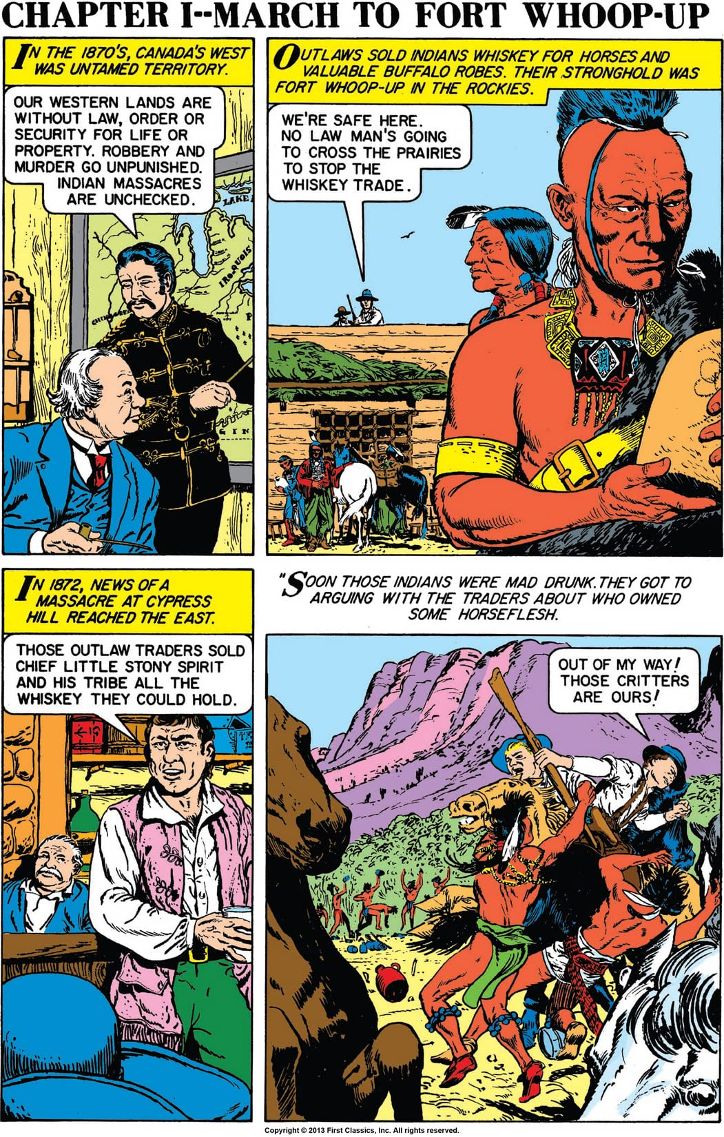 Classics Illustrated Special Issue #150A: Royal Canadian Mounted Police
