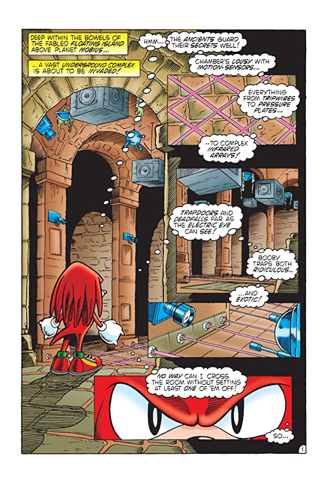 click for super-sized previews of Sonic's Friendly Nemesis: Knuckles #1