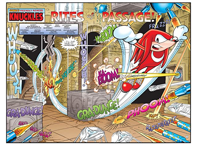 Sonic's Friendly Nemesis: Knuckles #1
