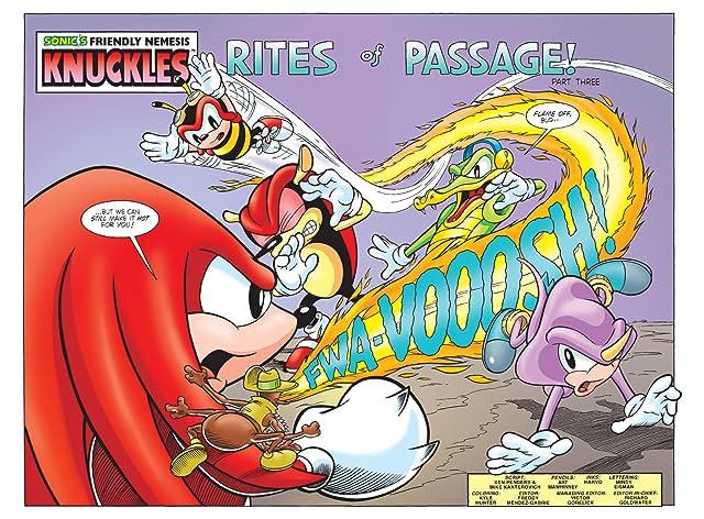 Sonic's Friendly Nemesis: Knuckles #3