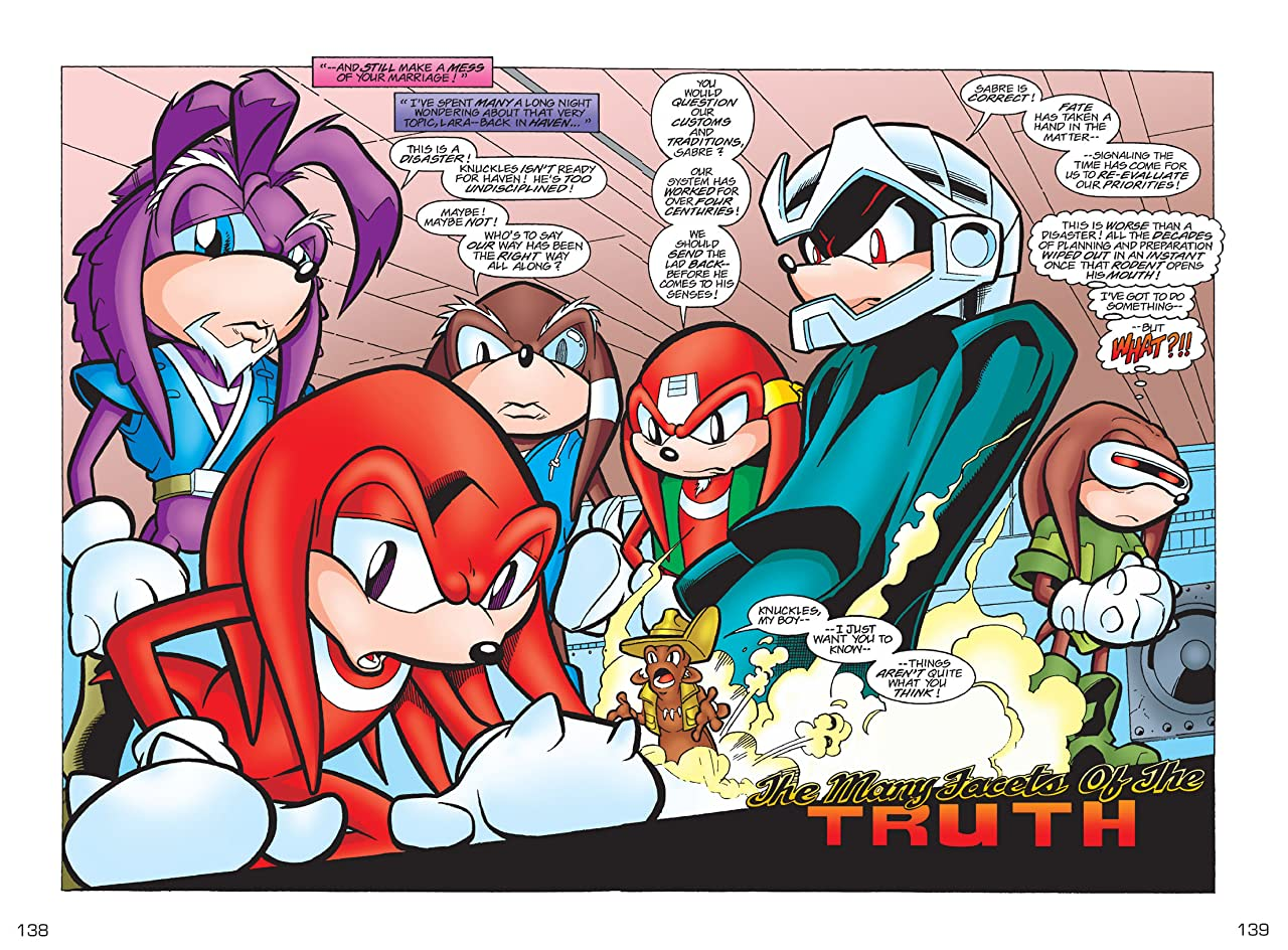 Knuckles the Echidna #21
