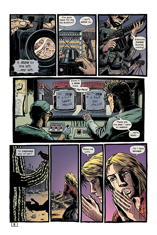 click for super-sized previews of Black Dawn #4