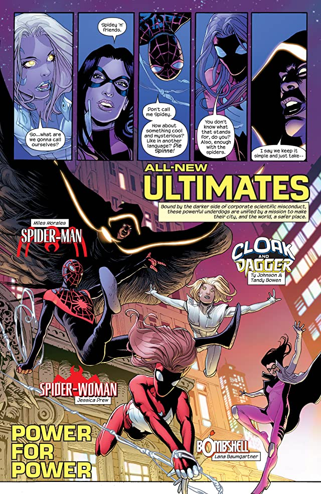 click for super-sized previews of All-New Ultimates (2014-2015) #1