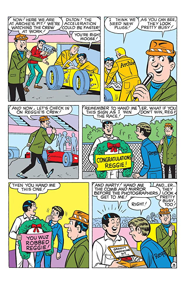click for super-sized previews of Archie & Friends: Need for Speed