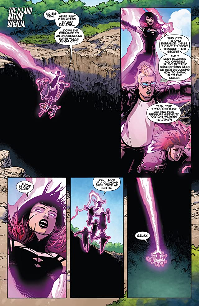 click for super-sized previews of Avengers Undercover #2